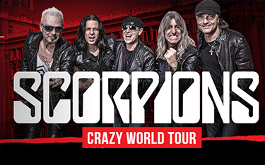 Концерт группы The Scorpions — Crazy World Tour